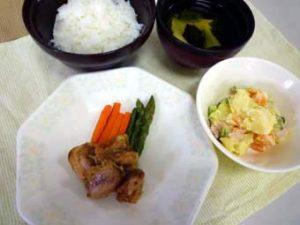 夕食の例1